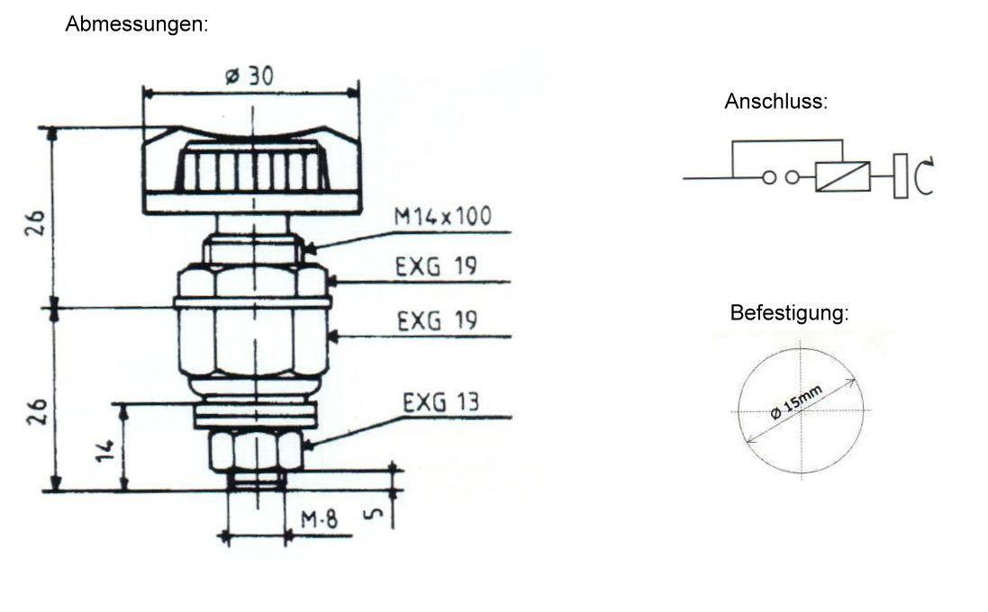Batterie-Hauptschalter 24V /  75A / 200A