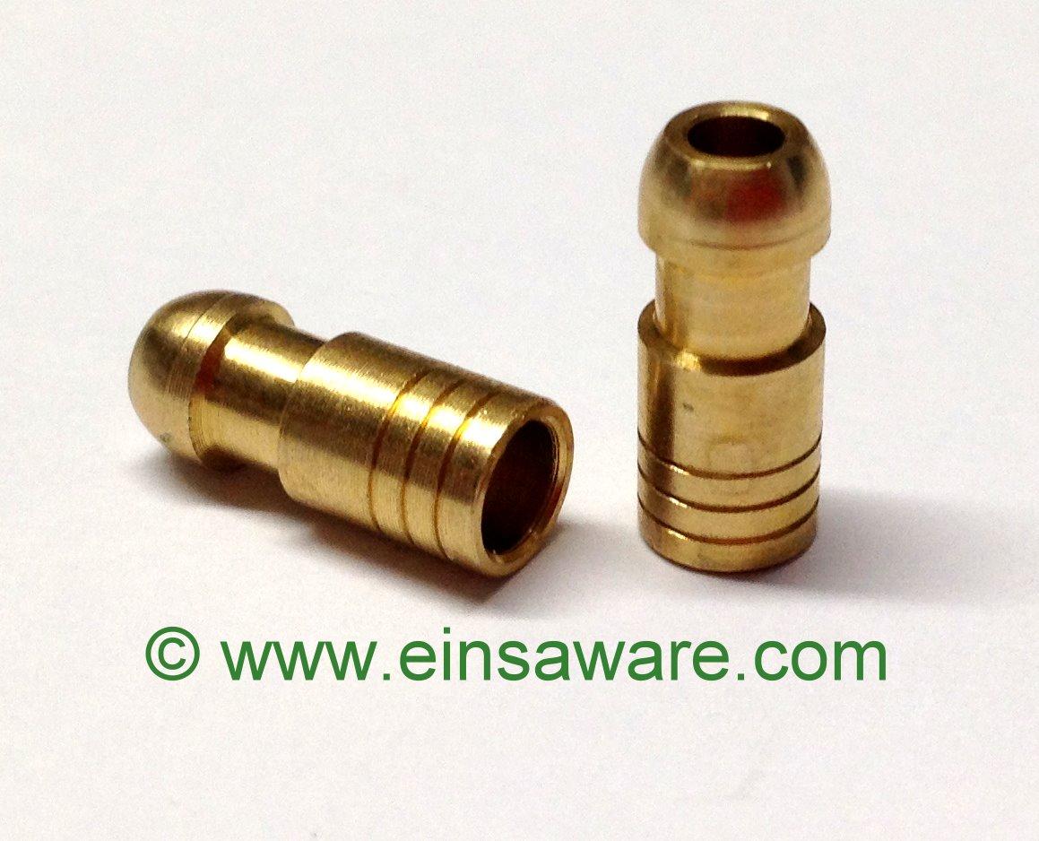 Lucas-Stecker -2,5mm² Messing blank oder verzinnt