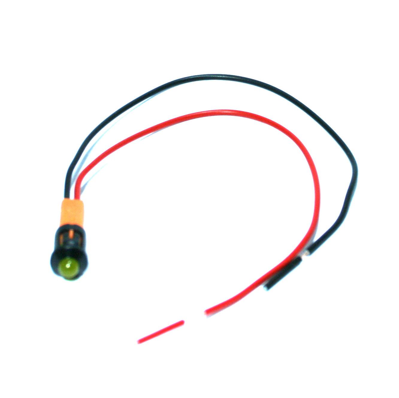 LED-Warnleuchte  6V, div. Farben, 1 Stück