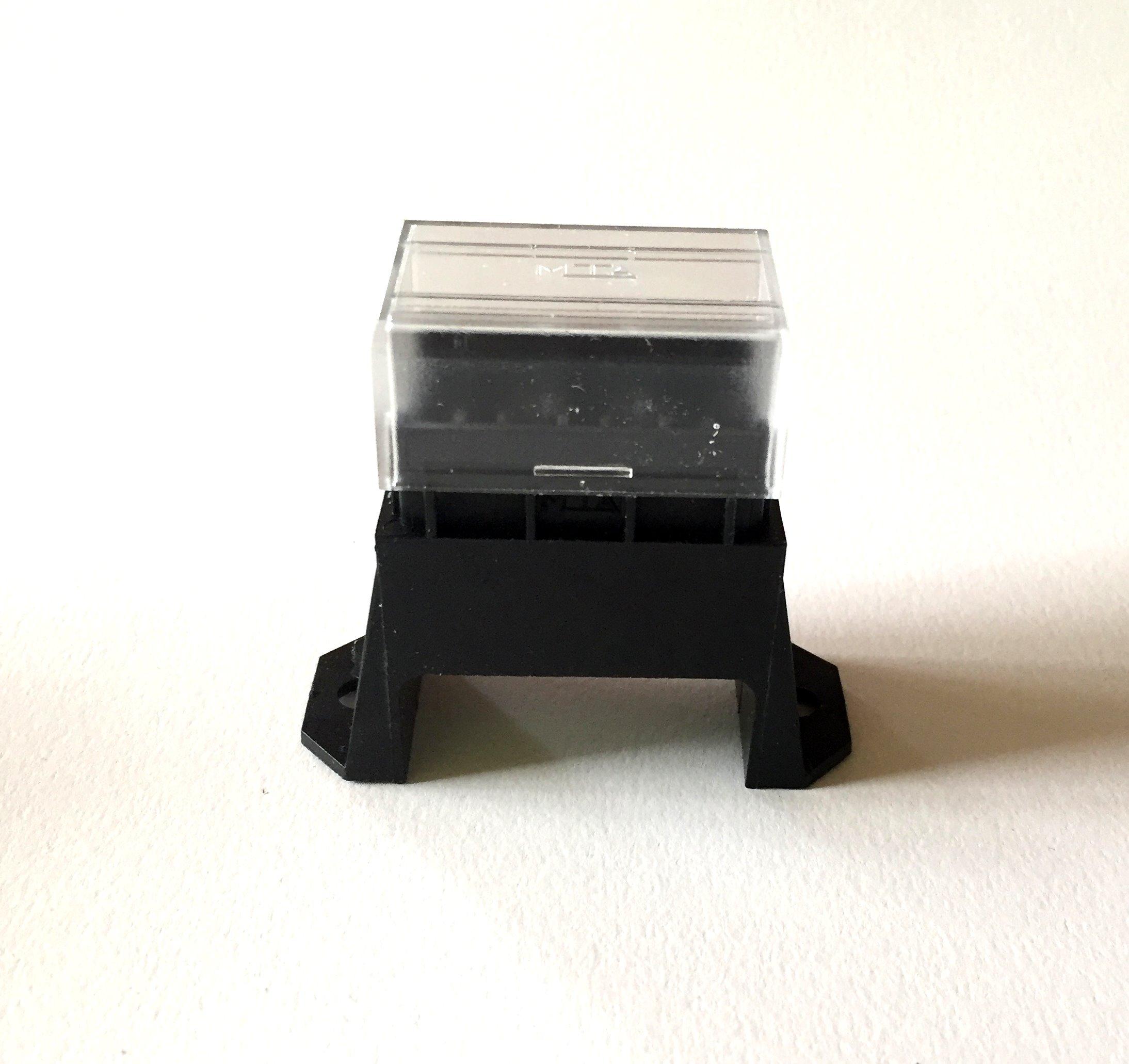 Sicherungsdose R 4-fach für Flachsicherungen Uni 1 Stück