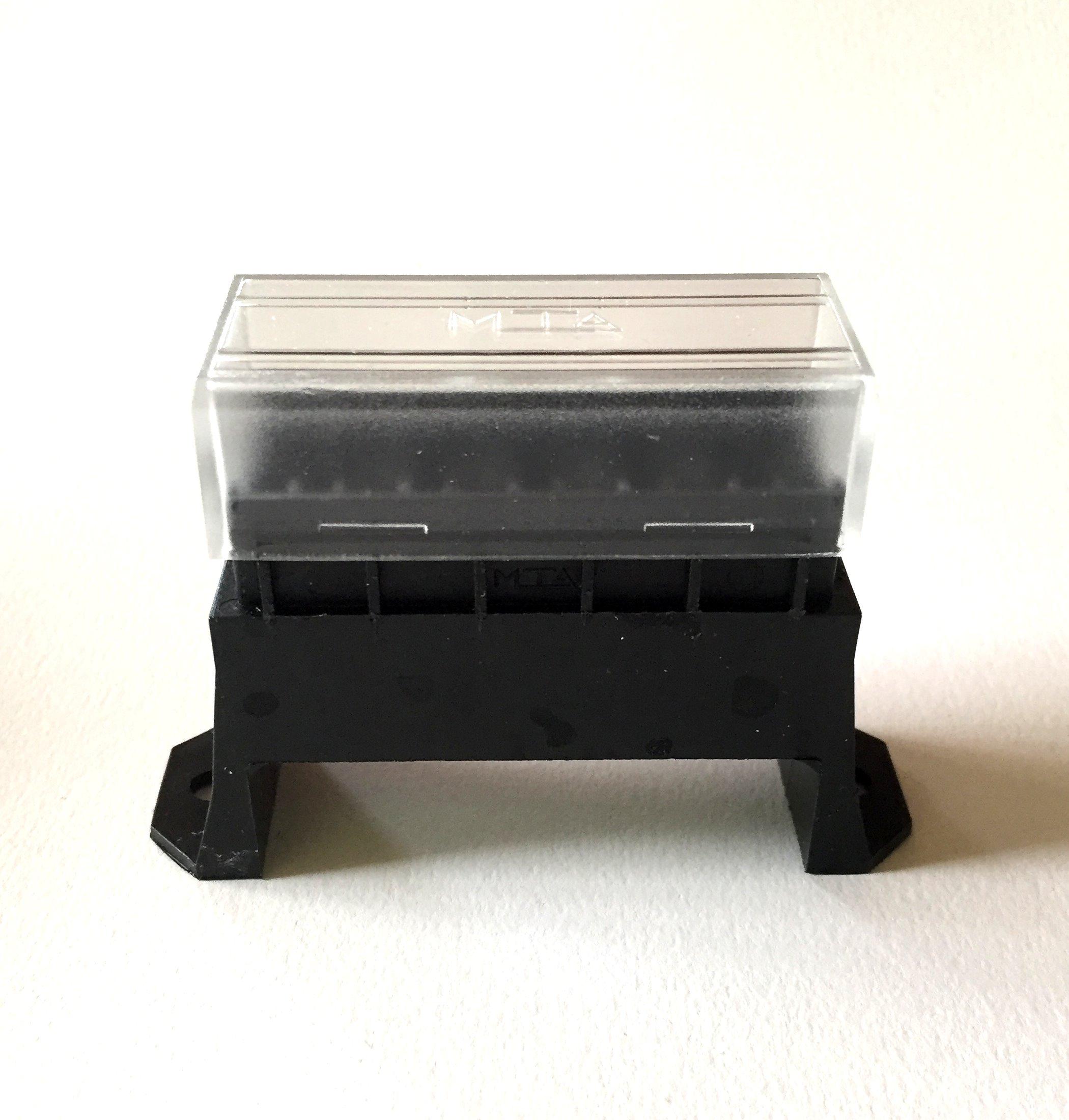Sicherungsdose R 6-fach für Flachsicherungen Uni 1 Stück