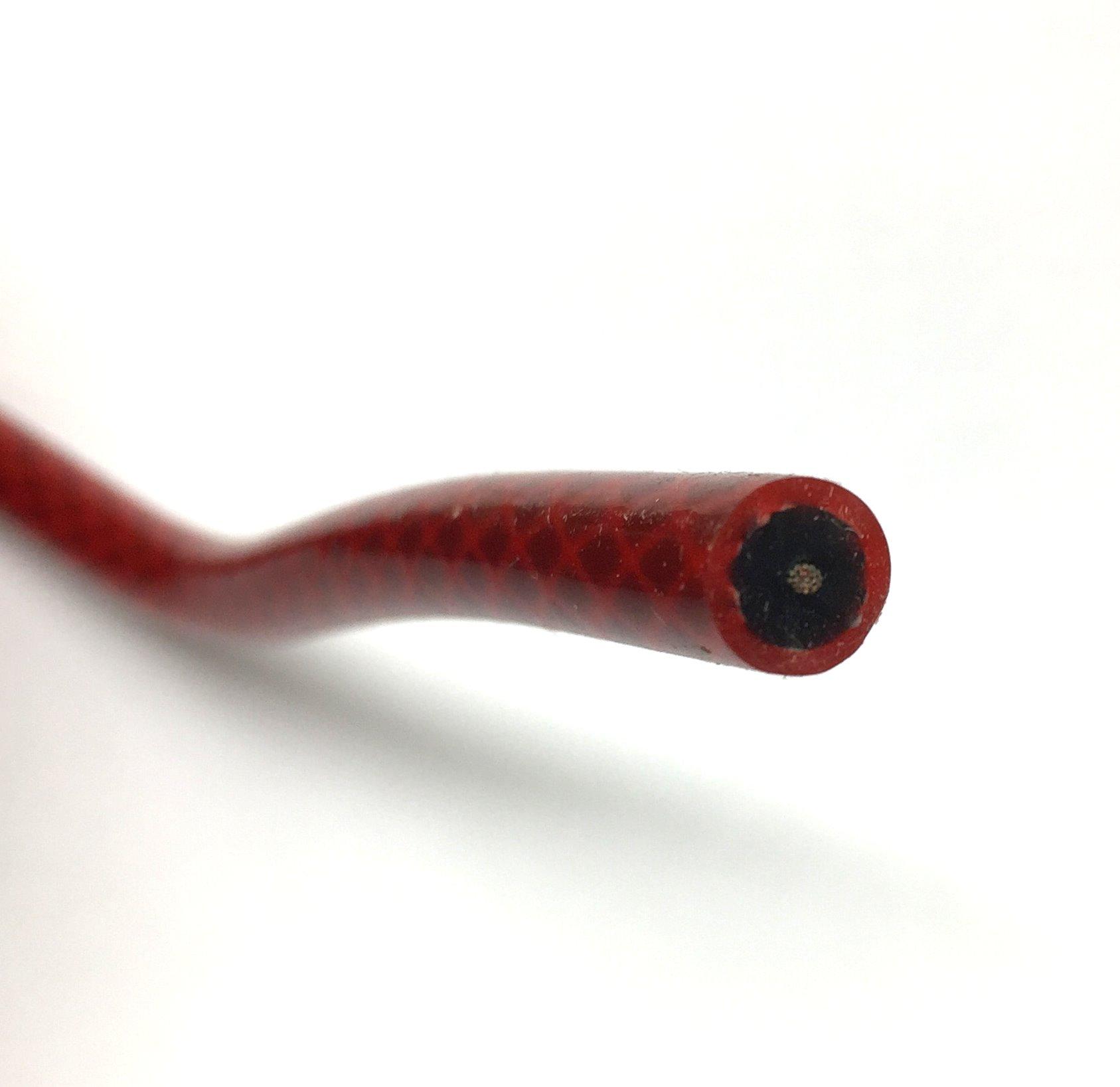 Zündkabel Silkon, rot, 1,0mm², außen-d= 7mm, 1m