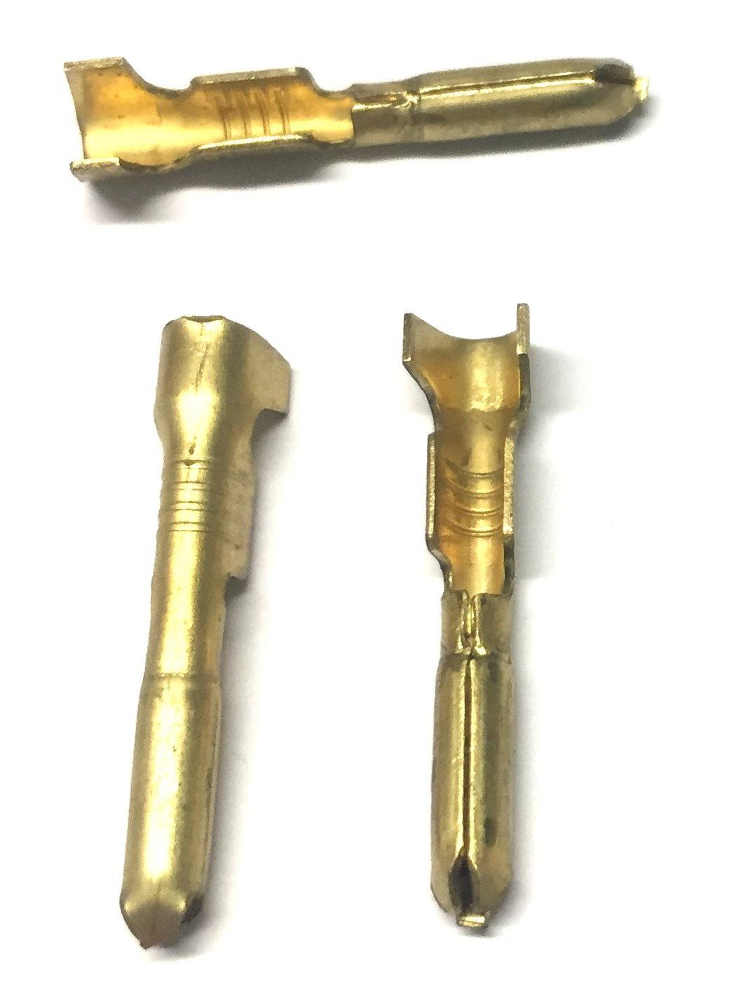 Rundstecker Messing -2,5mm², d= 3mm