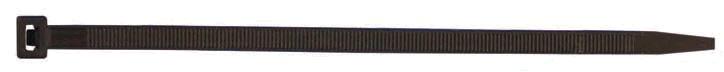Kabelbinder Kunststoff 290 x 4,8mm, schwarz oder natur