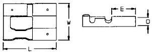 Japansteckerhülse 3-fach -1,5mm², Messing