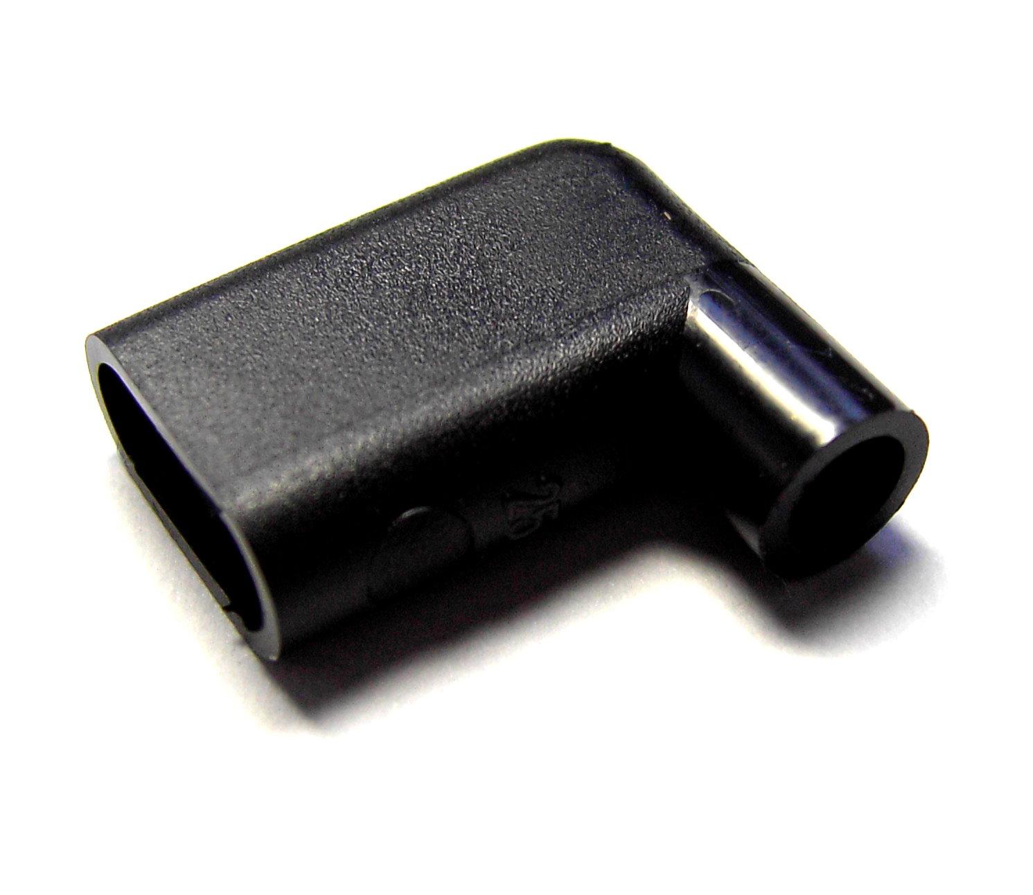 Schutztüllen für Winkel-Flachsteckhülsen 6,3mm Weich-PVC schwarz