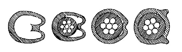 Kabelkennzeichnungs-Ringe 100 Stück