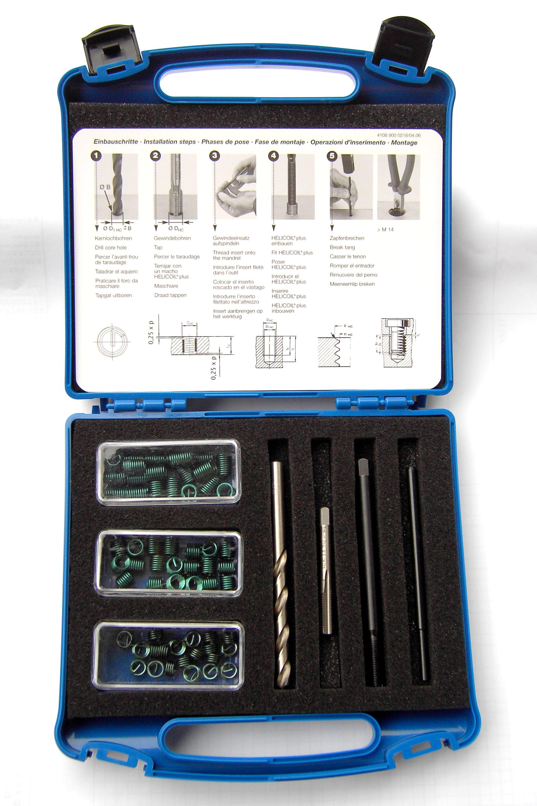Helicoil® plus M  8 x 1 Reparaturset