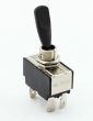 toggle switch black On-Off 12V/20A