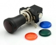 Push/Pull Switch 24V / 12,5A with 4 coloured lenses