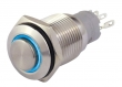 Pressure switch A2 12V / 3A with blue ring lighting