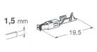 Federhülse, -1,0mm² 10 Stück