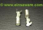 Japansteckerhülse 1-fach -1,5mm², Messing blank oder verzinnt