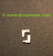 Winkel-Flachsteckhülsen 2,8mm -1,0mm²