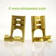 Winkel-Flachsteckhülsen Messing 6,3mm -1,5mm²