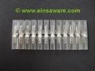 Flachsteck-Kupplung 12-polig, 2,8mm