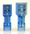 Flachsteckhülsen -2,5mm² blau vollisoliert 20 Stück