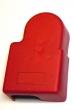 Batteriepole Abdeckung rot  1 Stück