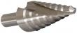 Stufenbohrer mit Spiralnute HSS-G, 4 - 12 mm